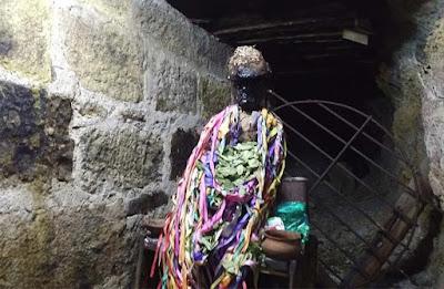 tio de la mina - museo minero del socavon oruro