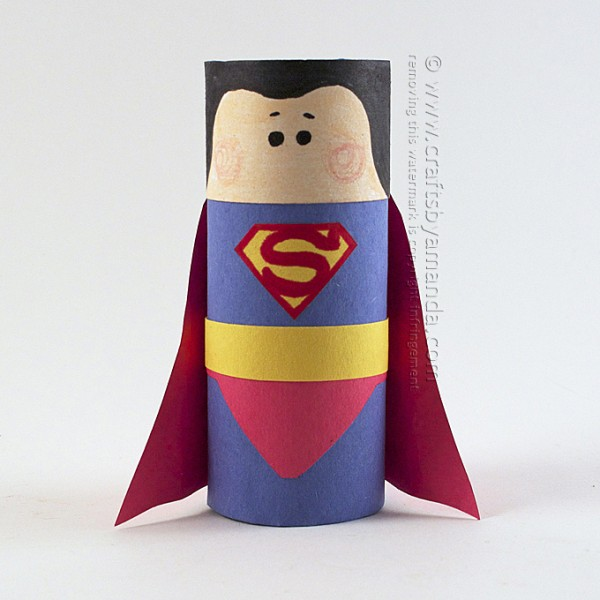 http://craftsbyamanda.com/cardboard-tube-superman-craft/