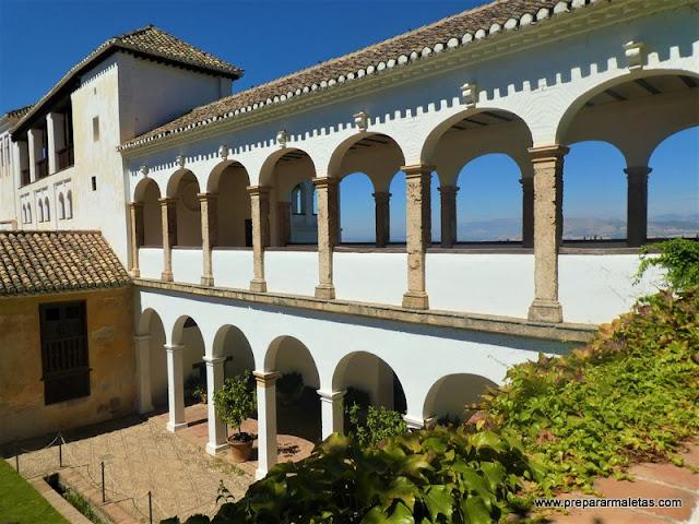 Visitar el Generalife Alhambra de Granada