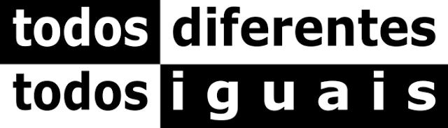 Resultado de imagem para Todos Diferentes e Todos Iguais