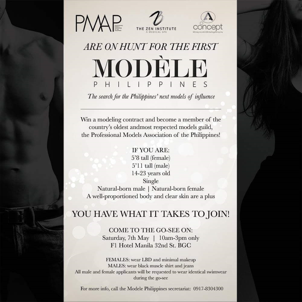 modelling agency in Manila
