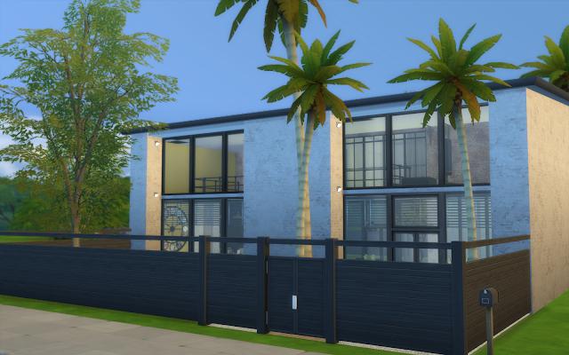 maison style industriel sims 4