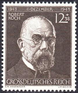 တင္ေဇာ္လြင္ - ေဒါက္တာေရာဘတ္ေကာ့ (Robert Koch) တံဆိပ္ေခါင္းမ်ား