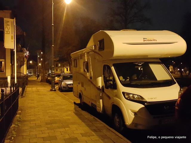 Utrecht Holanda motorhome