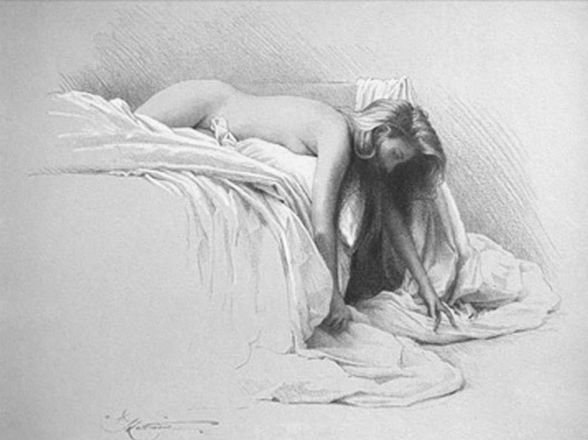 dibujos animados mujeres desnudas calientes