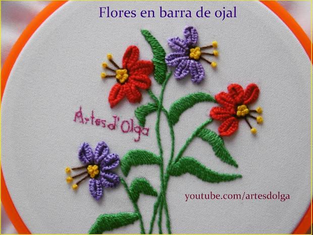 Flores Para Bordar A Mano Imgurl