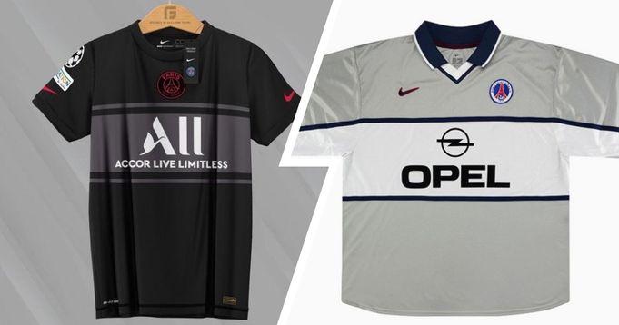 PSG third kit leaked online - idea similar to 2001 away kit