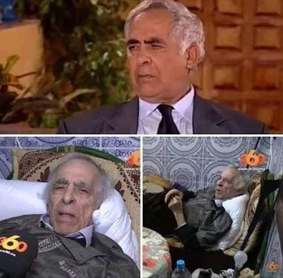 الفنان الكبير محمد الخلفي يعيش المرض و الفقر و النسيان