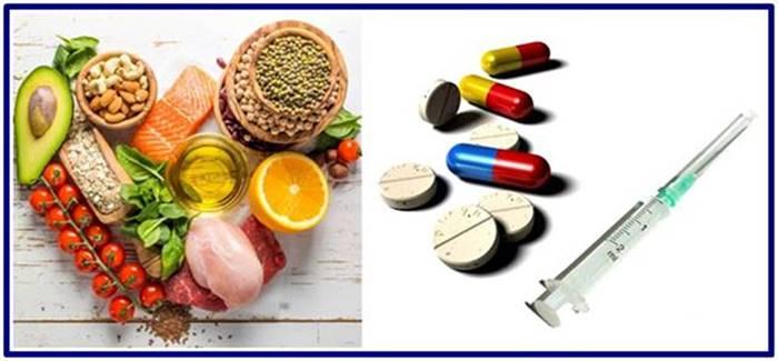 Diferencias entre los alimentos anabólicos y los fármacos conocidos como esteroides anabólicos