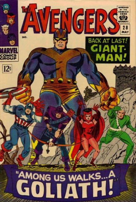 Jack Kirby Avengers 28