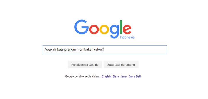 Pertanyaan Ngawur untuk Google