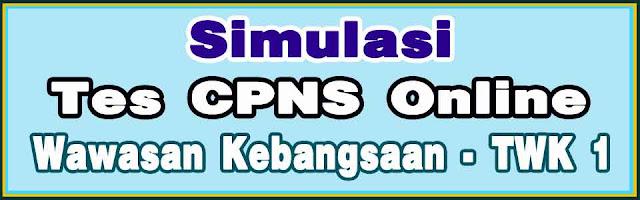 Tes wawasan kebangsaan CPNS Online