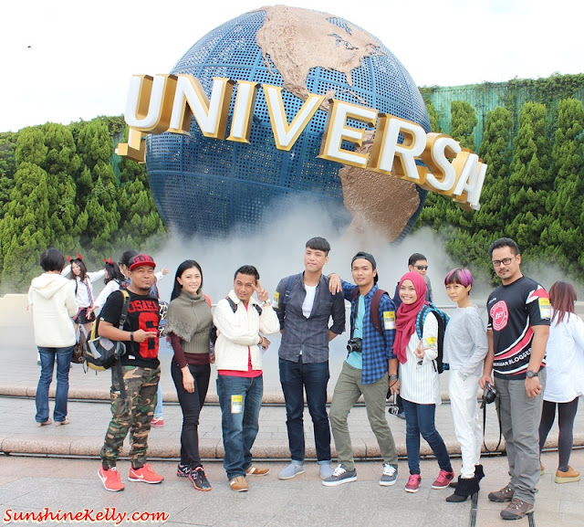 AirAsia X, Universal Studios Japan, Medis Familiarisation Trip, Osaka, Universal Studios Japan, Universal Studios, Japan, Travel, AirAsiaX booking, Eat-Man Restaurant, Hotel New Hankyu, Umeda, Hello Kitty, Halloween Costume Party, Elmo go skateboard, Universal Globe