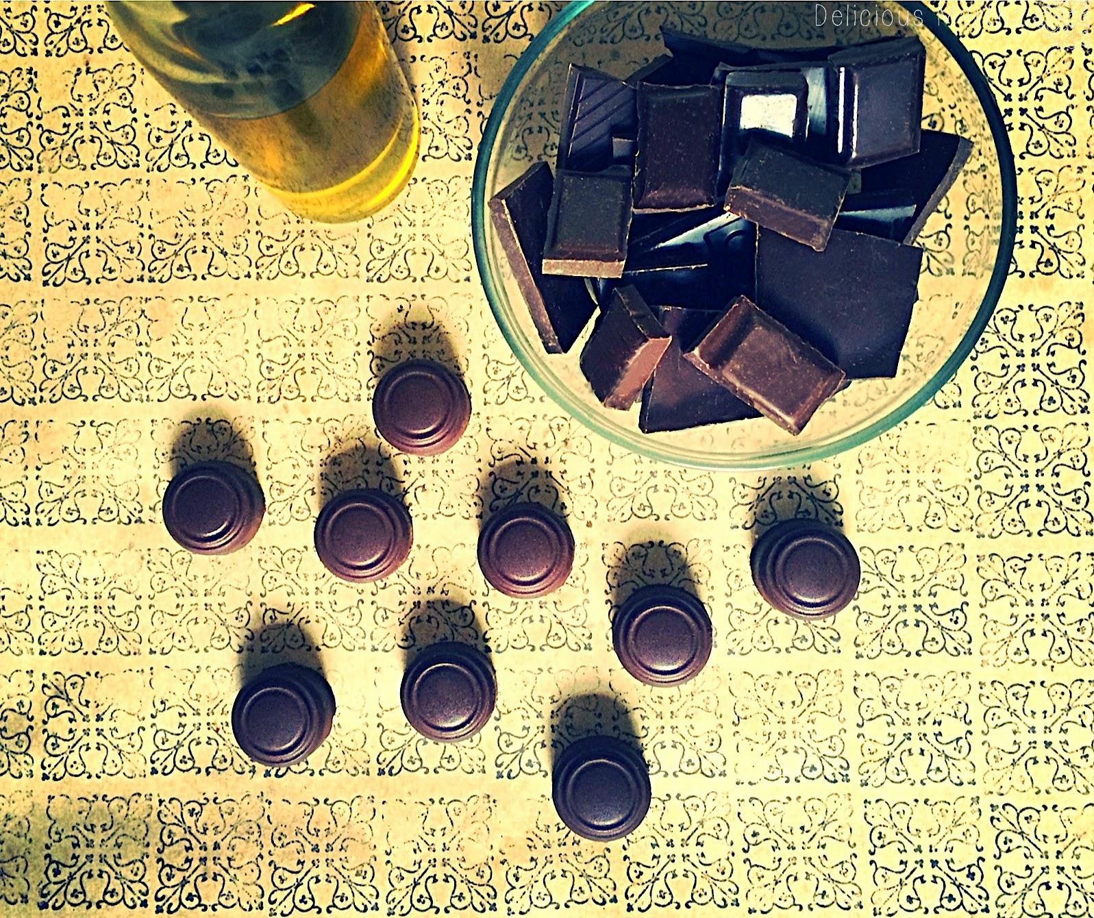 Bombones de aceite de oliva (con dos rellenos)