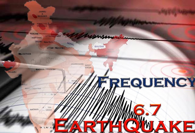 Earthquake Tremors In Delhi Again And Felt For Several Seconds