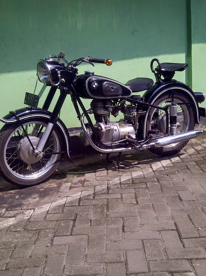 Dijual motor bmw klasik #2