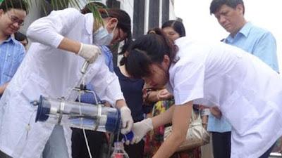Kiểm tra nguồn nước sinh hoạt định kỳ và thường xuyên