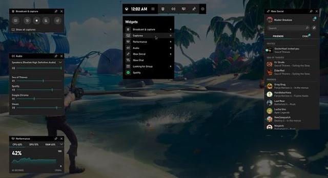 merekam layar menggunakan xbox game bar record