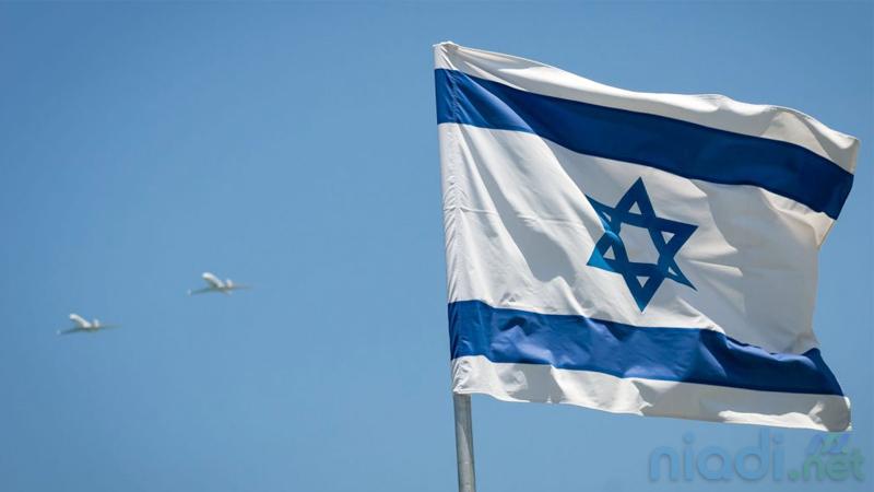 Lambang Bintang Daud (Star of David) di bendera Israel
