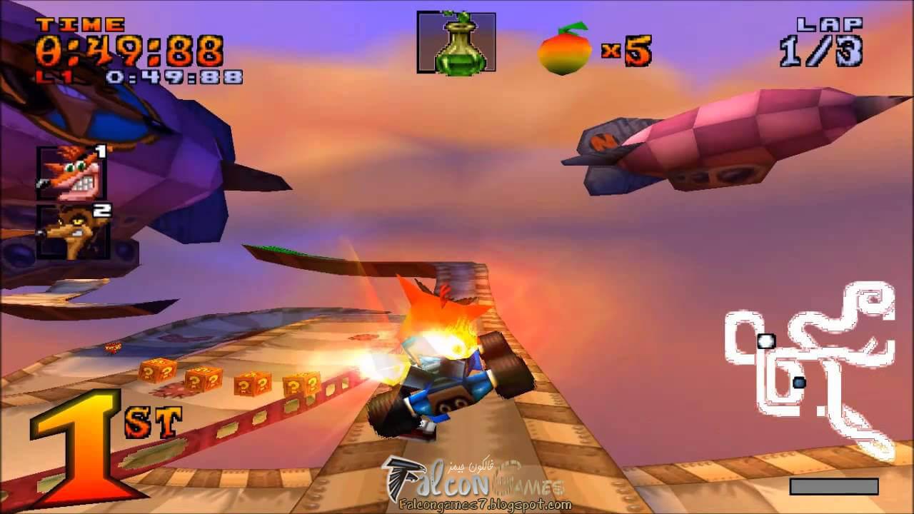 تحميل لعبة crash team racing nitro fueled للكمبيوتر
