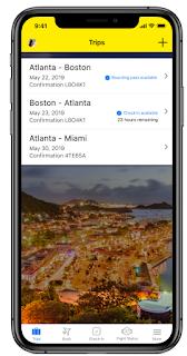 Spirit Airlines Mobile App