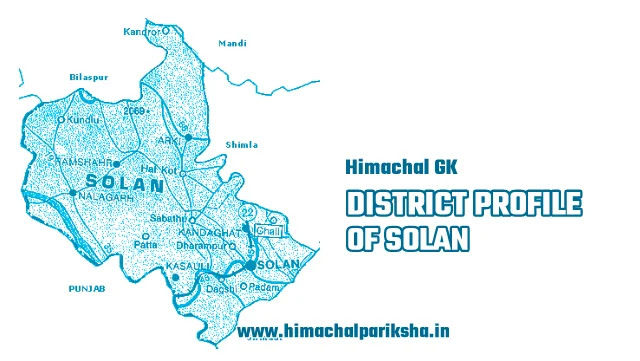 District Profile of Solan District - Himachal GK - Himachal Pariksha