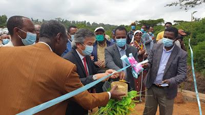 Duta Besar Al Busyra Basnur   Diundang Resmikan Pembukaan Jalan di Ethiopia