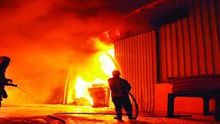 حريق بمصنع للأحذية في صفاقس