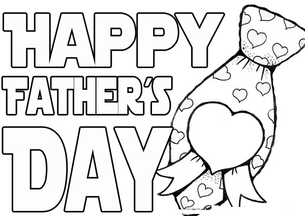 Fathers Day Coloring Pages Drawing Sheets Free