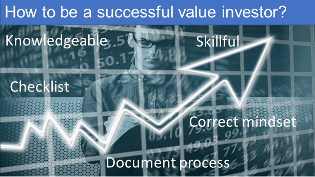 How to be a successful value investor?