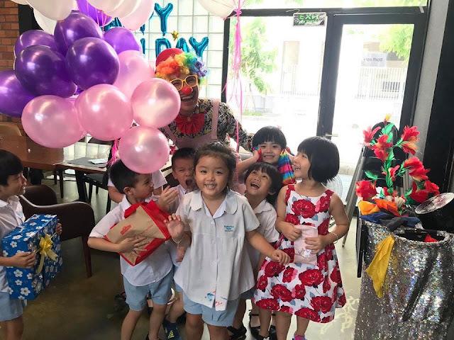 Dịch vụ chú hề hoạt náo chơi trò chơi tại Hà Nội