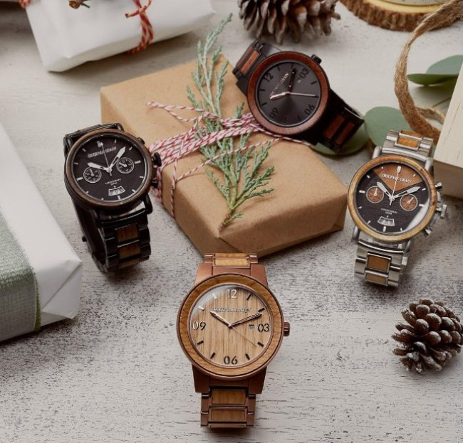 Men's Holiday Gift Guide- Original Grain Watches