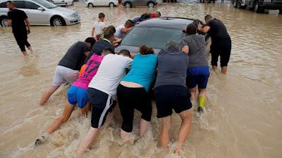 Photos: Six Dead, 3,500 Evacuated In Spain Floods