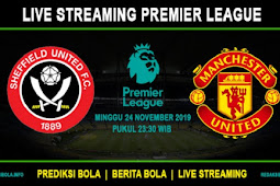 LIVE STREAMING SHEFFIELD VS MANCHESTER UNITED