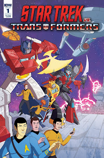 IDW Star Trek vs Transformers Comic Book Series