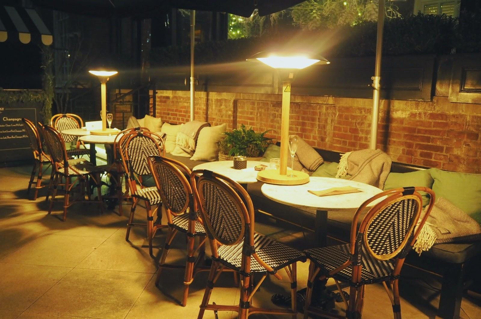 Dalloway Terrace Outside Terrace