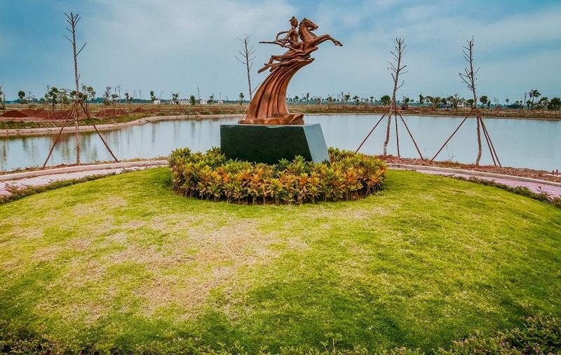 Dự án sở hữu 02 hồ tự nhiên lớn
