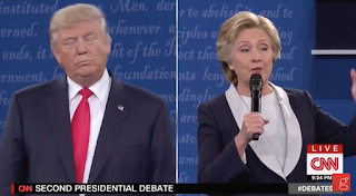 Trump to Hillary: You Fear Me as Pres., Because You Know You'll Be in Jail