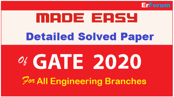 gate-2020-made-easy-solution