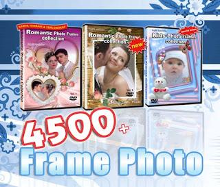 DVD KUMPULAN FRAME FOTO TERLENGKAP