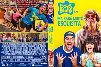 Filme Luccas Neto em - Uma Babá Muito Esquisita DVD Capa