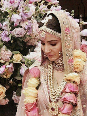 Anushka Sharma marriage time photoshoot