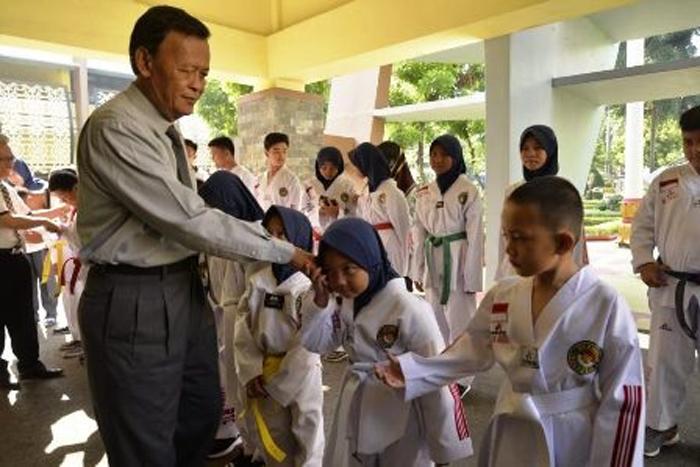 19 Atlet Taekwondo Metro Siap Berlaga  ke Badung Bali