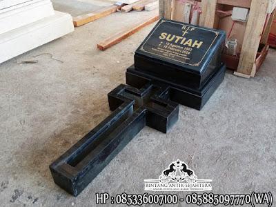 Makam Kristen Model Minimalis | Nisan Kuburan Kristen Terbaru