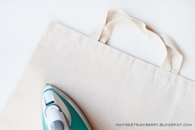 ironing canvas bag
