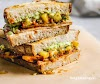 Barbecue Tofu Sandwiches With Pineapple Relish
