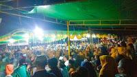 <b>Lautan Massa Sambut Lutfi-Feri di Kelurahan Melayu</b>