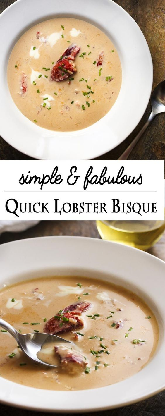 Fabulous Quick Lobster Bisque