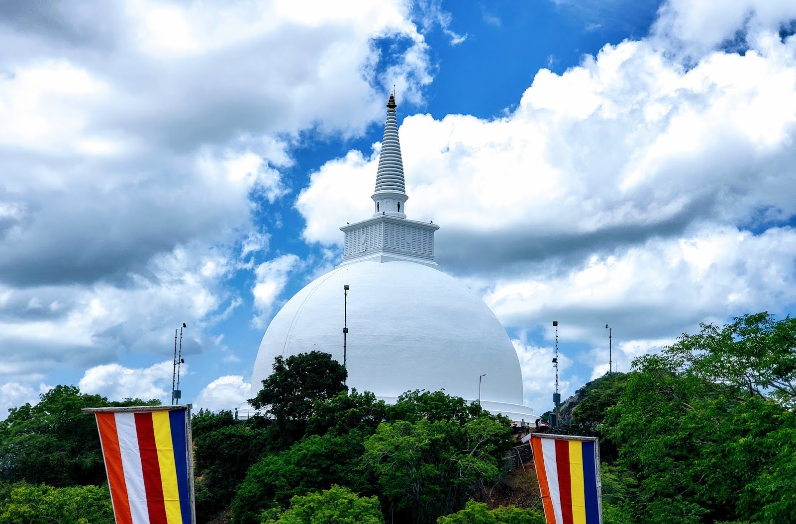 Maha Stupa at Mihintale