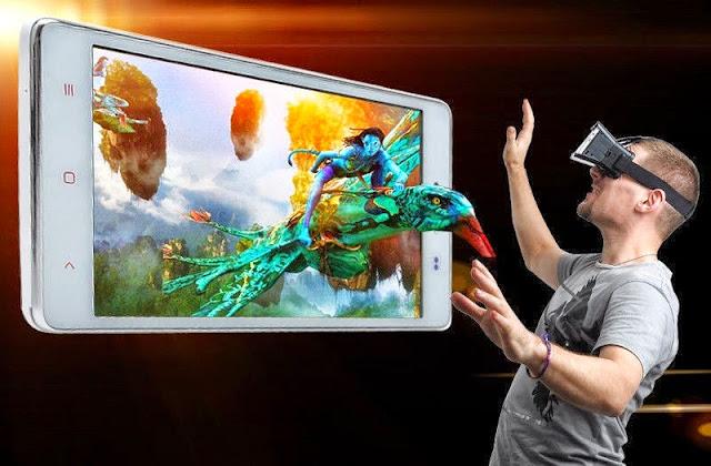 مجموعة العاب وافلام نضارة الواقع الافتراضى3D